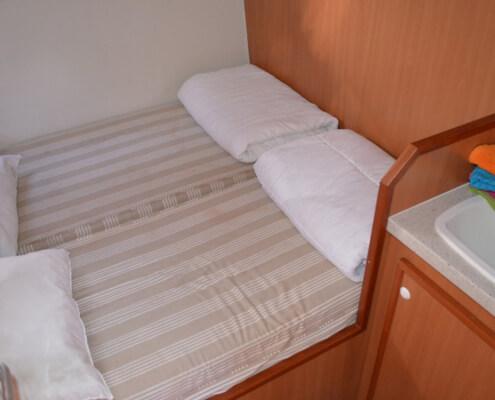 Hausboot Tarpon 42 N Schlafkabine