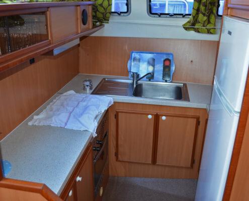 Hausboot Tarpon 42 N Küche