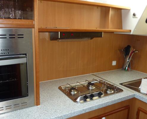Hausboot Tarpon 49 QP Küche