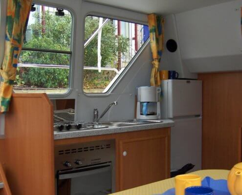 Hausboot Tarpon 32 Küche
