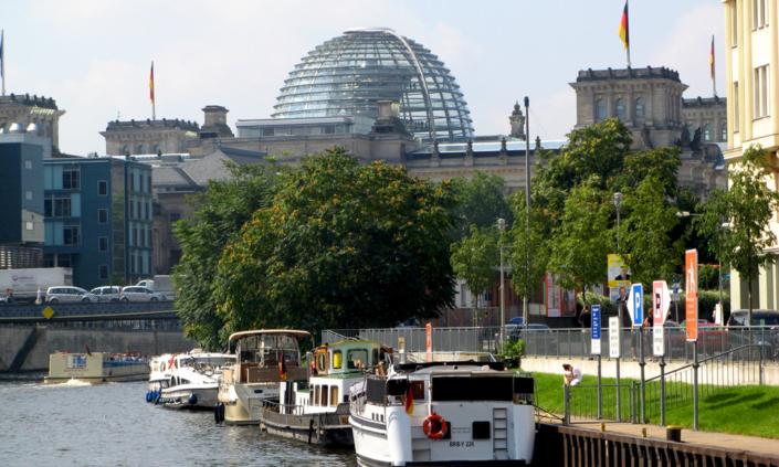 Hausboot fahren in Berlin