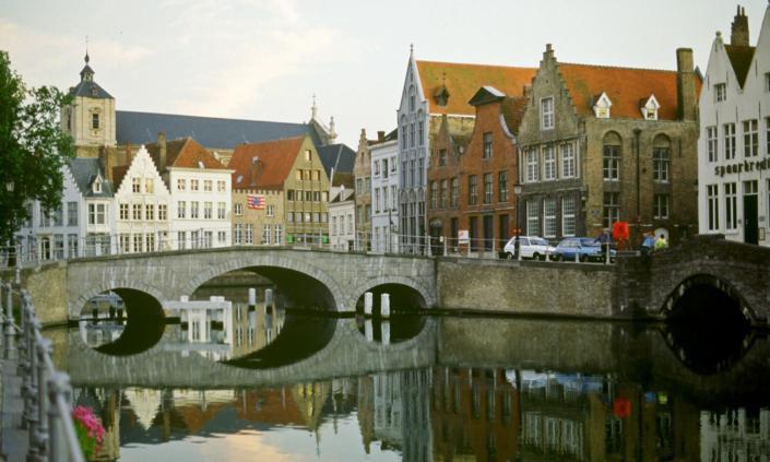 Brücke in Belgien in Brügge