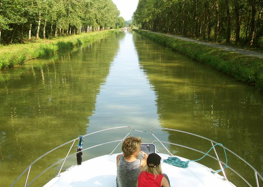 Hausboot fahren in der Bretagne