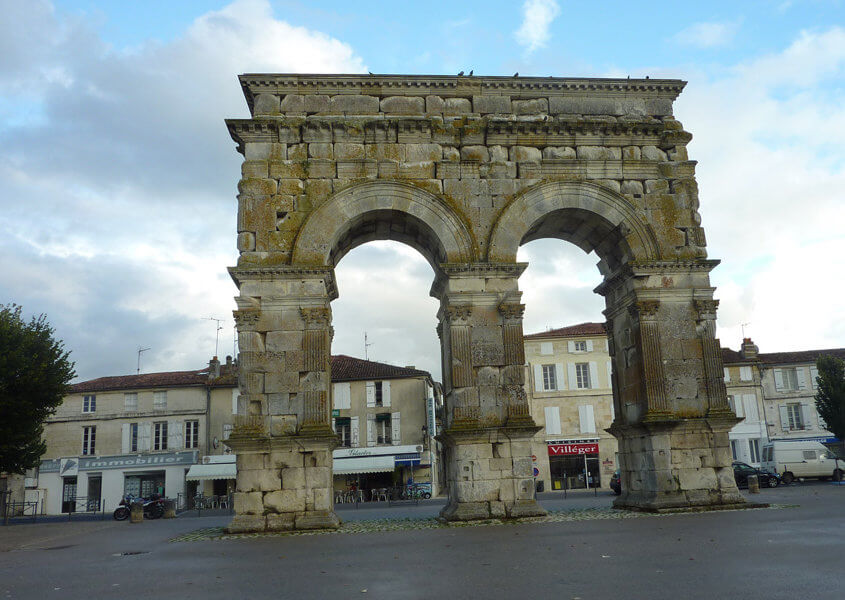 Germanicusbogen in Saintes, Charente