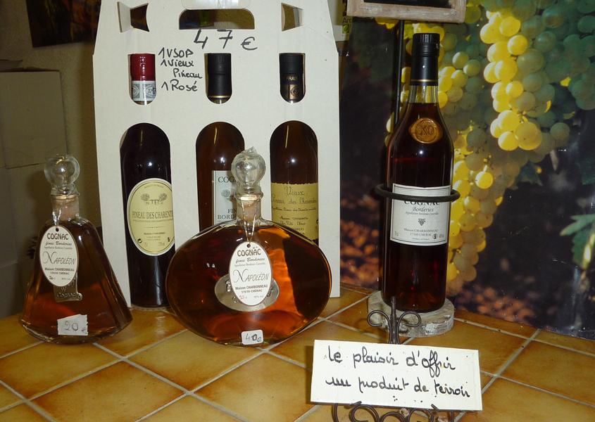 Hausboot Charente - Cognac probieren