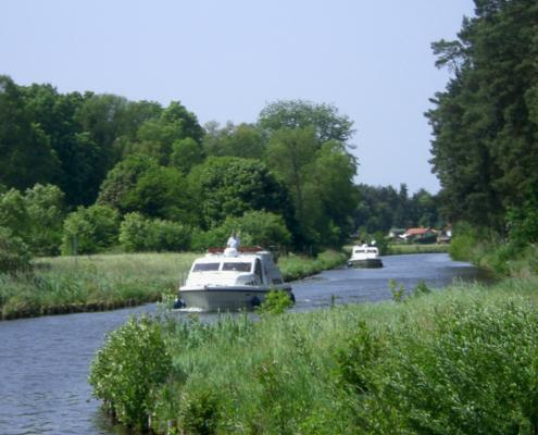 Hausboot fahren in Deutschland