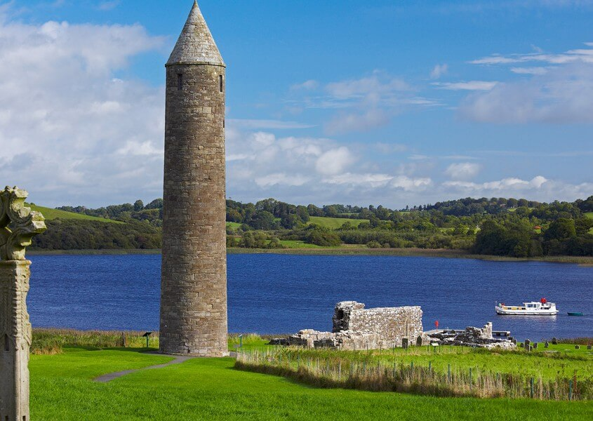 Hausboot Irland Clonmacnoise