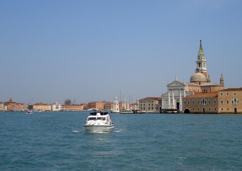 Hausboot in Italien Venedig