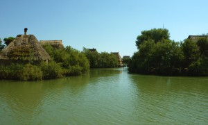 Hausboot fahren Lagune Grado Marano, Casoni