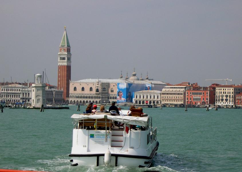 Italien-Lagune von Venedig