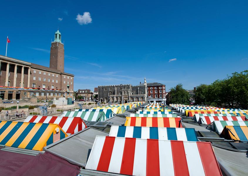 Markt in Norwich