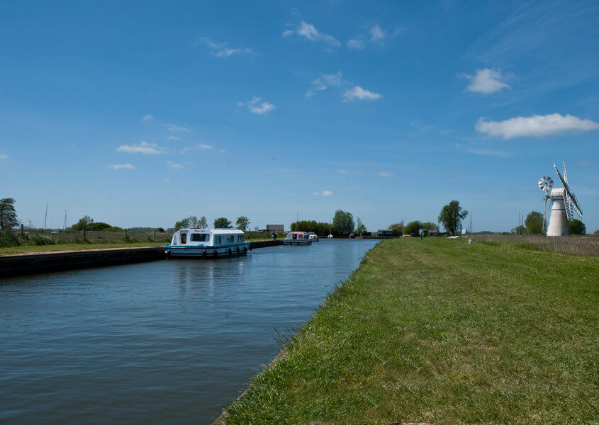 Bootsferien Norfolk Broads Thurne