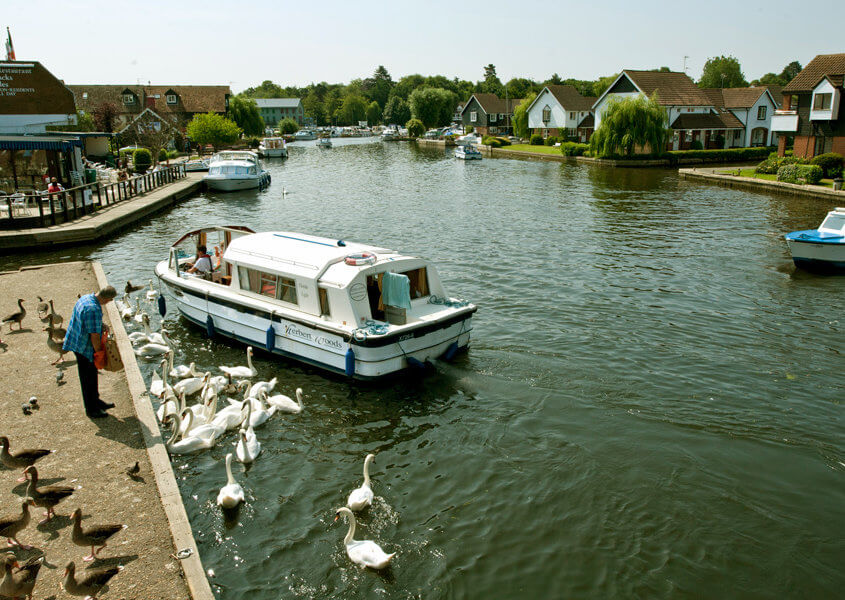 Bootsferien Norfolk Broads Wroxham