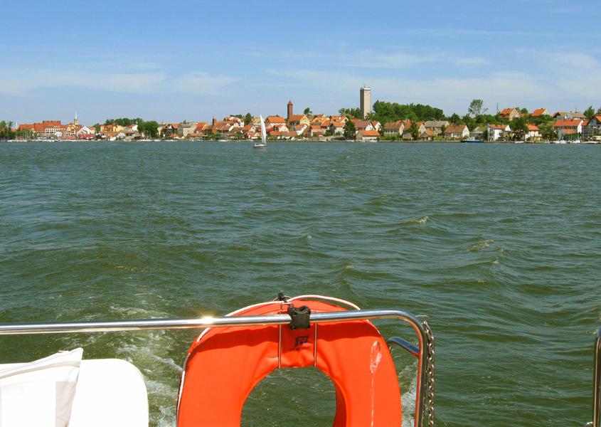 Hausboot fahren Masuren