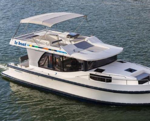 Hausboot Horizon 4 Aussenansicht