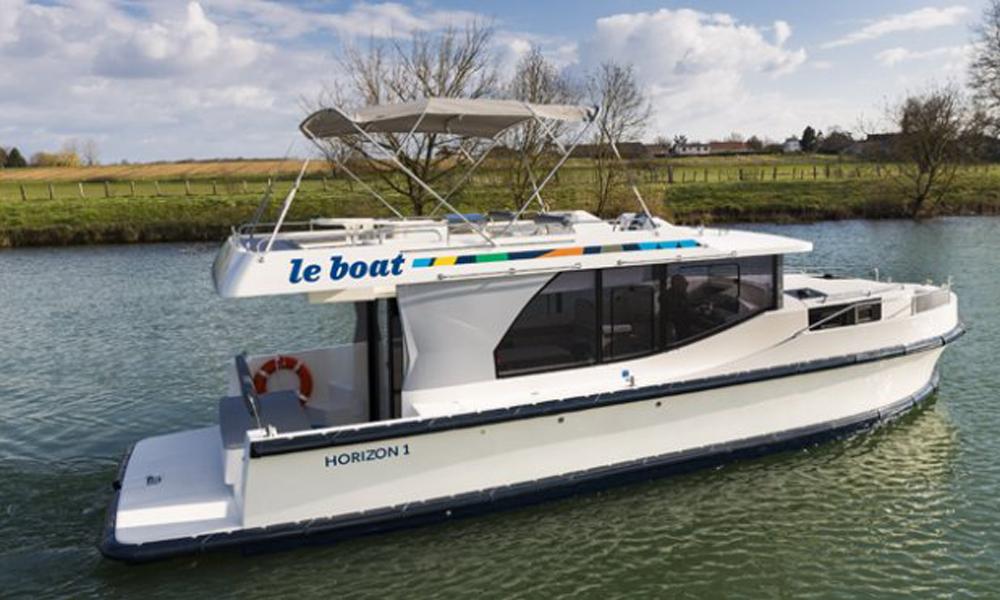 Hausboot Horizon Außenansicht