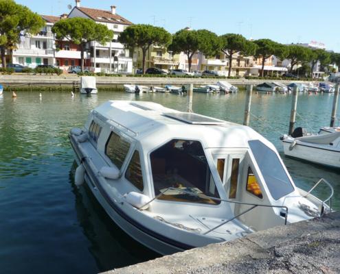 Hausboot fahren in Italien