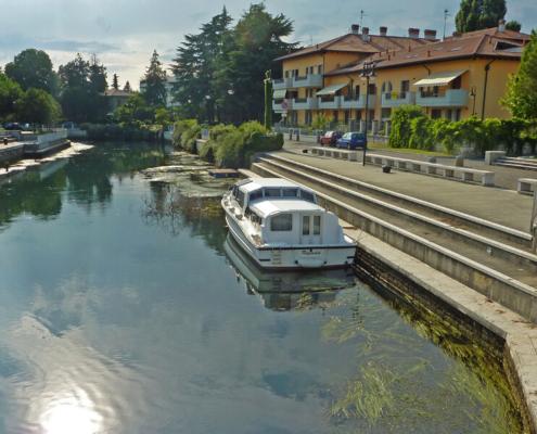 Hausbootfahren in Italien, Cervignano