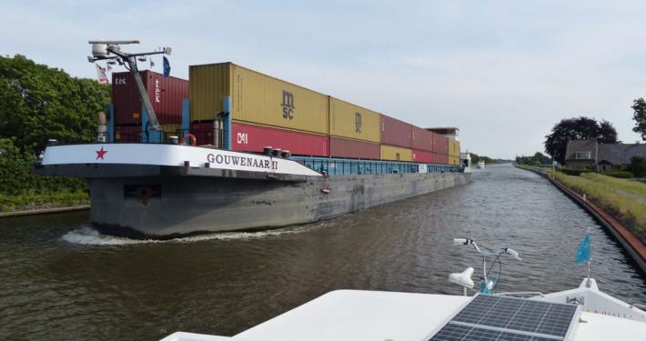 Hausboot fahren in Holland
