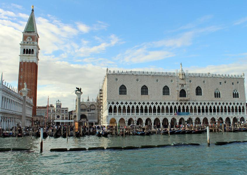 Lagune Venedig Markusplatz