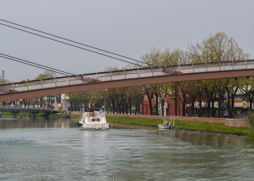Hausbootfahren Jesolo, Italien