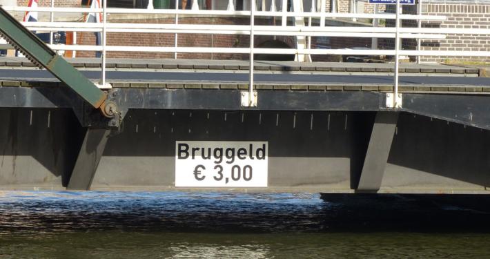 Hausboot Holland Brückengeld