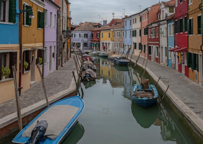 Burano, Lagune von Venedig