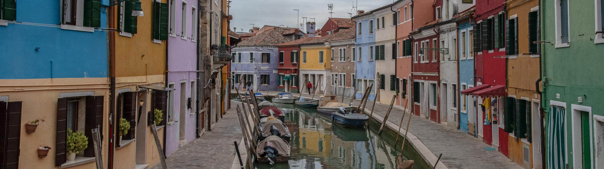 Burano Lagune von Venedig
