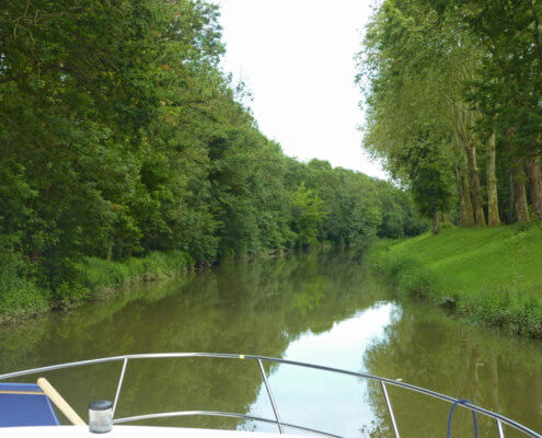 Hausboot Canal Pont de Vaux, Saone und Seille