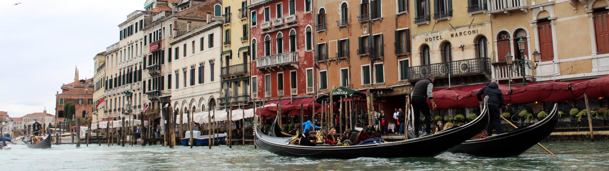 Canale Grande Hausbooturlaub Lagune Venedig