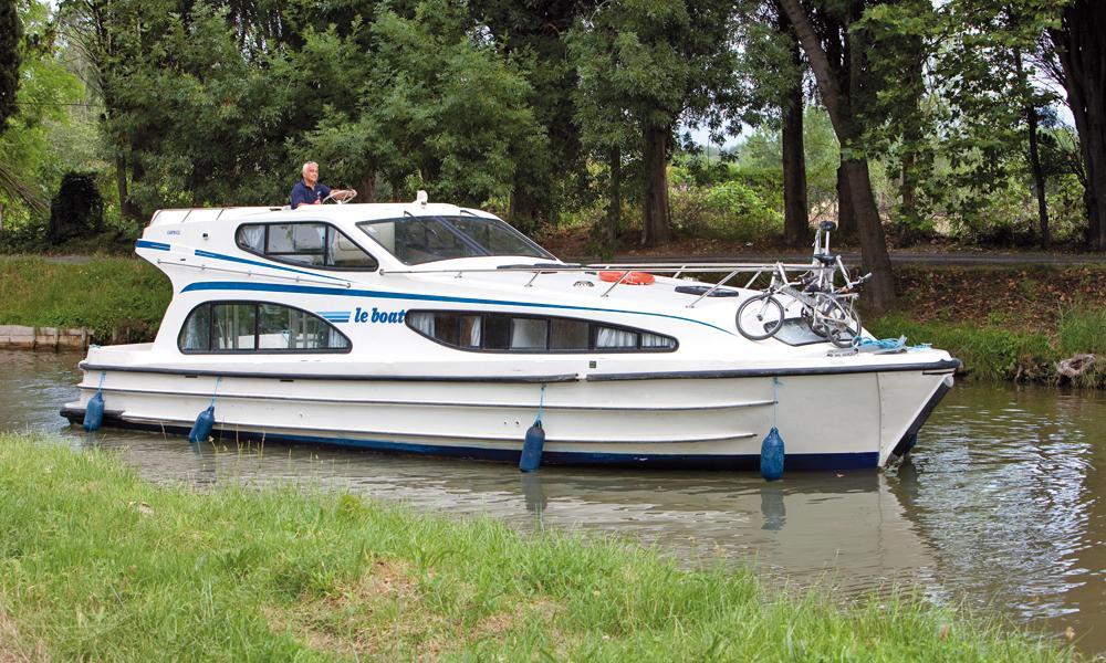 Hausboot mieten Caprice Außenansicht