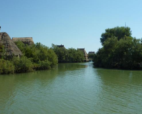 Hausbootfahren in Itlien, Lagune Grado Marano Casoni