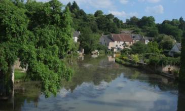 Canal du Nivernais, Burgund, Frankreich
