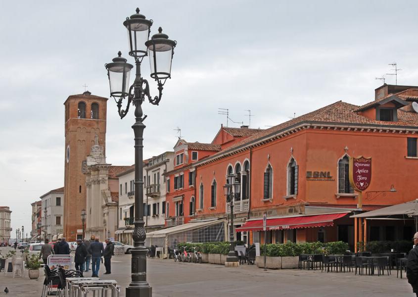 Chioggia Lagune Venedig