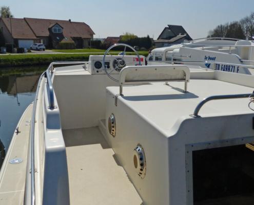Hausboot mieten Aussendeck Cirrus