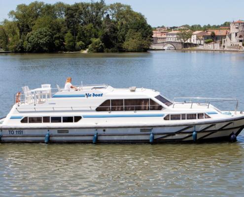 Hausboot Classique für 8-10 Personen führerscheinfrei