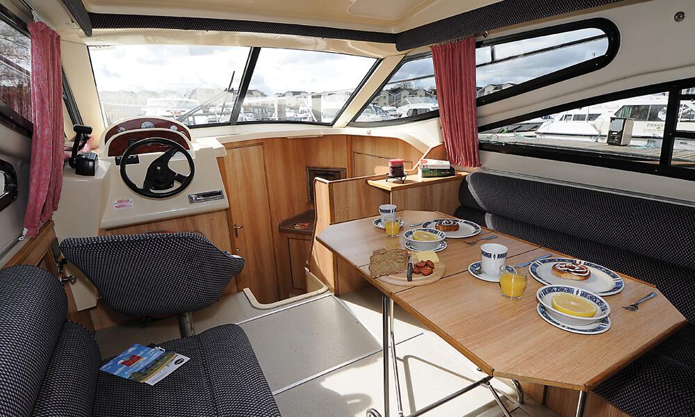 Hausboot Consul 2 Kabinen Wohnraum
