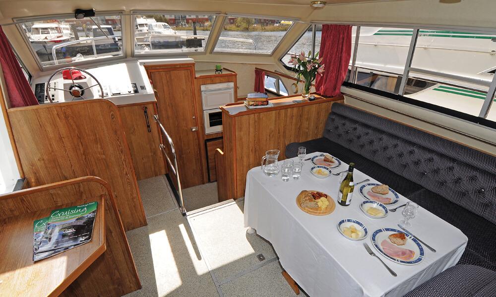 Hausboot Crusader Wohnraum