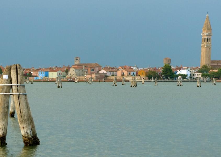 Hausbooturlaub Venedig, Dalben in der Lagune