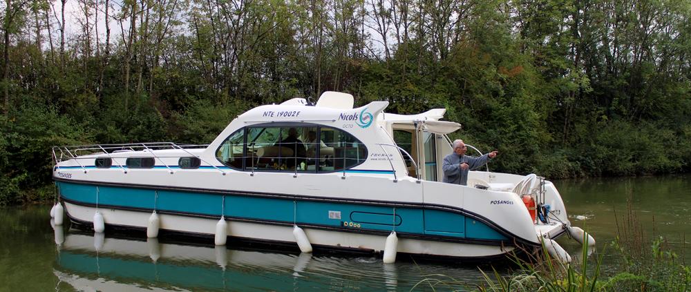 Hausboot Nicols Octo mit 4 Kabinen