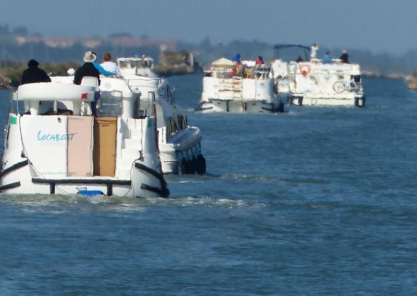 Hausboote in der Camargue Hausboot Canal du Midi Hausbooturlaub