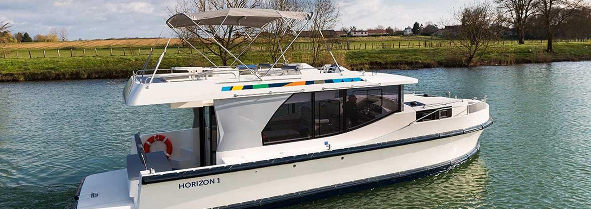 Hausboot Horizon 2 Kabinen