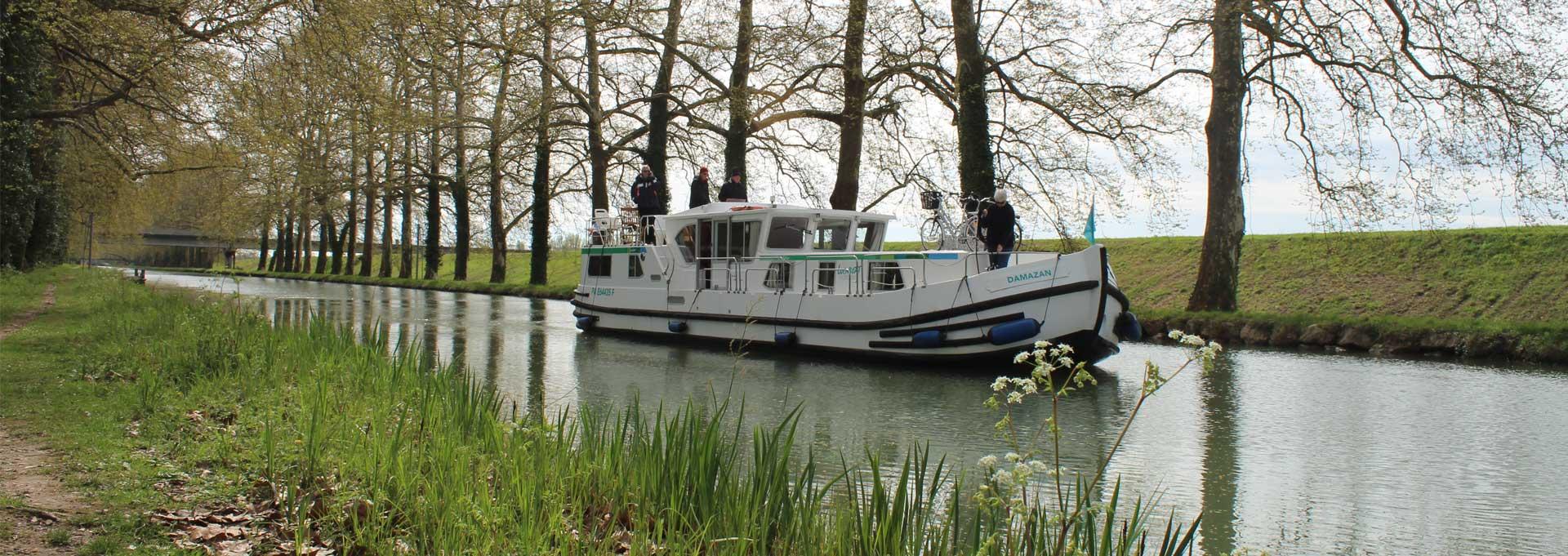 Hausbootflotte Frankreich