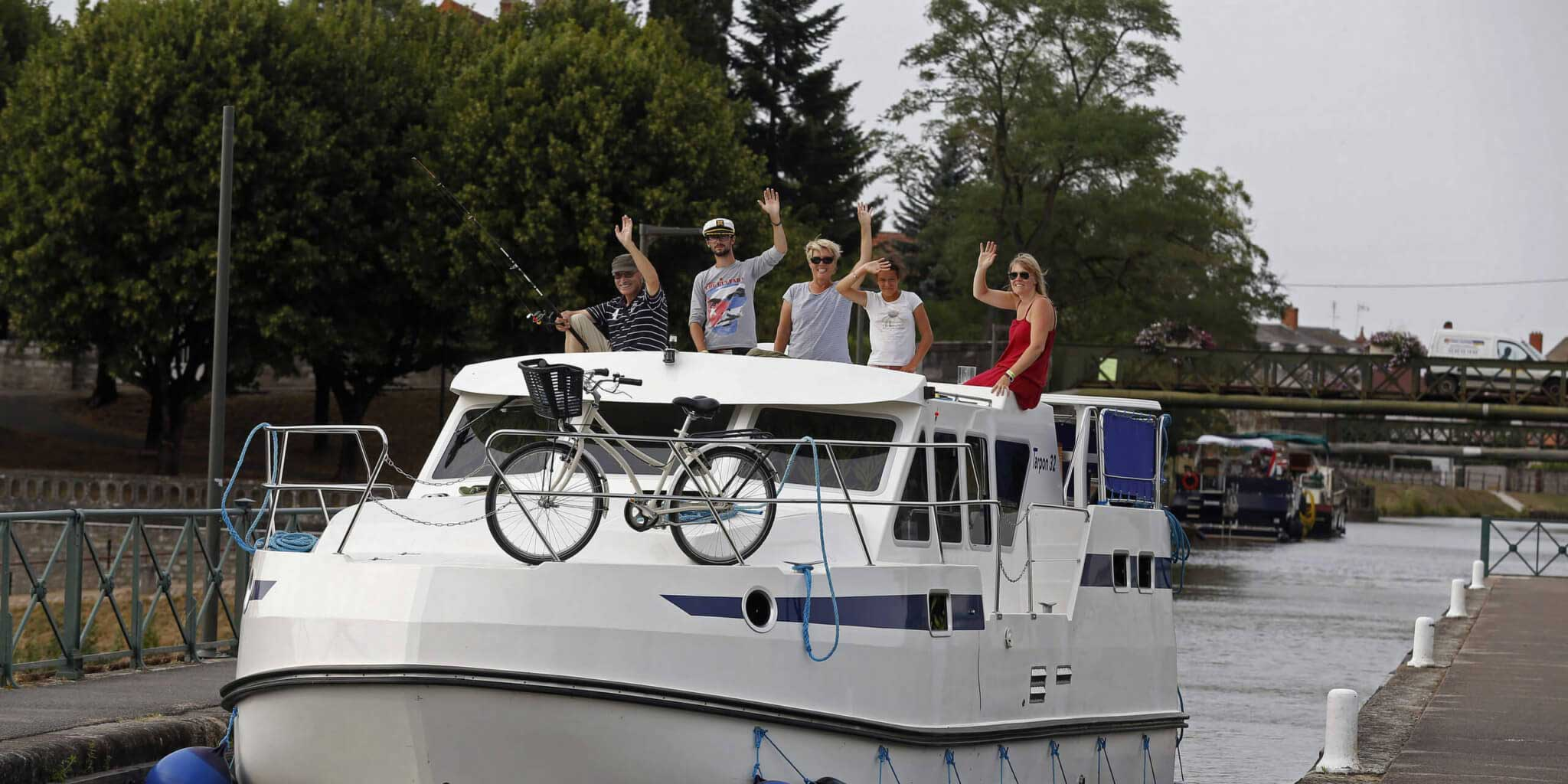 Hausboot mieten Frankreich & Europa