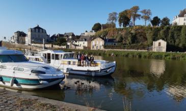 Hausboot mieten Mayenne