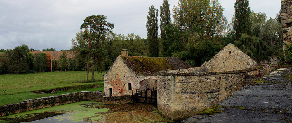 Forge de Buffon am Canal de Bourgogne