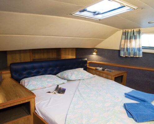 Hausboot mieten führerscheinfrei Doppelkabine