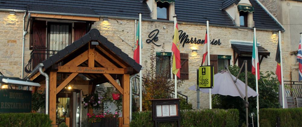 Restaurant Le Marronnier in Buffon