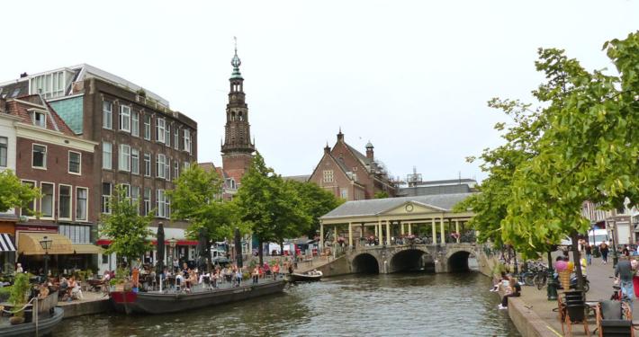 Hausboot Holland Innenstadt Leiden