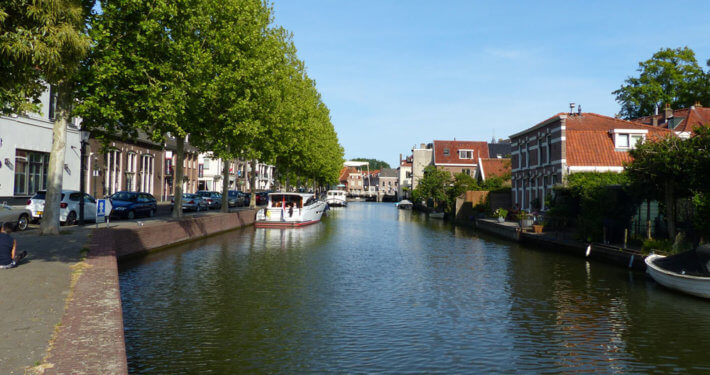 Hausboot Liegeplätze in Weesp Holland